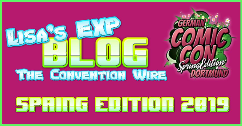 German Comic Con Spring Edition Dortmund 2019