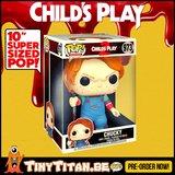 Funko POP! Chucky 10 INCH - Child's Play Pre-Order _