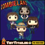 Funko POP! Bundle of 4 - Zombieland Pre-Order _