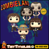 Funko POP! Bundle of 4 + CHASE - Zombieland Pre-Order _