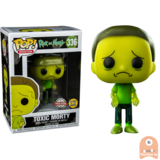 POP! Animation Toxic Morty GITD #336 Rick and Morty Exclusive _