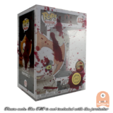 "5 Pack PPJoe Standard 4"" Blood Splattered Funko POP Protectors 0.45mm Thickness_"