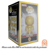"5 Pack PPJoe Standard 4"" Gold Edition Funko POP Protectors 0.50mm Thickness_"