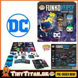 FunkoVerse DC Comics Strategy Game base Set PRE-ORDER (ENG)