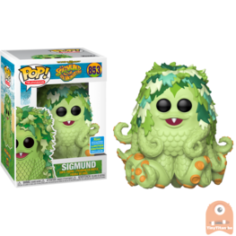 POP! Television Sigmund #853 Sigmund and the Sea Monsters - SDCC