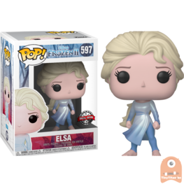 POP! Disney Elsa Ocean Exclusive #597  Frozen II
