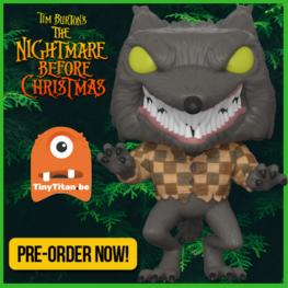 Funko POP! Wolfman - Nightmare before Christmas PRE-ORDER