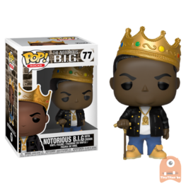 POP! Rocks The Notorious B.I.G. with Crown #77