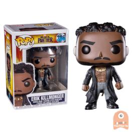 POP! Marvel Erik Killmonger With Scars #386 Black Panther