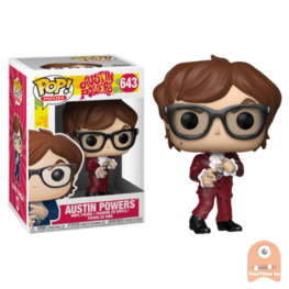 POP! Movies Austin Powers Red Suit #643