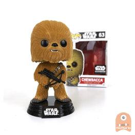 POP! Star Wars Chewbacca Flocked #63 The Force Awakens