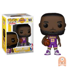POP! Sports LeBron James Lakers Purple Jersey #53 NBA Excl.