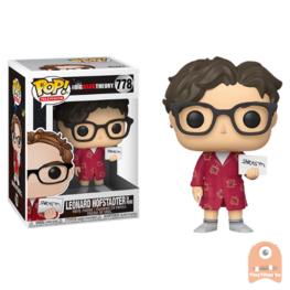 POP! Television Leonard Hofstadter in Robe #778 The Big Bang Theory