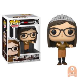POP! Television Amy Farrah Fowler tiara #779 The Big Bang Theory