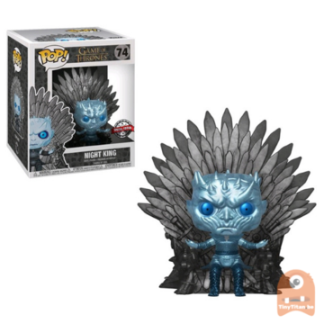 POP! Game of Thrones Night King Iron Throne - Metallic #74