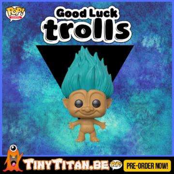 Funko POP! Teal Troll - Good Luck Trolls PRE-ORDER