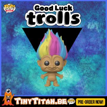 Funko POP! Rainbow Troll - Good Luck Trolls PRE-ORDER