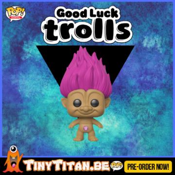 Funko POP! Pink Troll - Good Luck Trolls PRE-ORDER