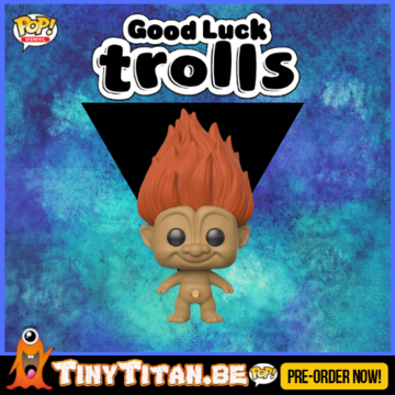 Funko POP! Orange Troll - Good Luck Trolls PRE-ORDER
