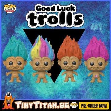 Funko POP! Bundle of 4 - Good Luck Trolls PRE-ORDER