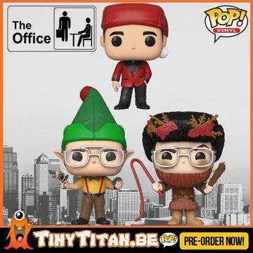 Funko POP! Bundle of 3 - The Office PRE-ORDER