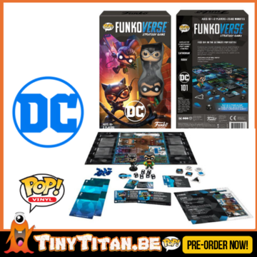 FunkoVerse DC Comics Strategy Game Expandalone PRE-ORDER (ENG)
