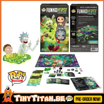 FunkoVerse Rick & Morty Strategy Game Expandalone PRE-ORDER (ENG)