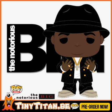 Funko POP! The Notorious B.I.G. PRE-ORDER