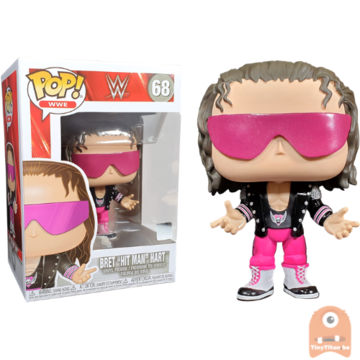 POP! Sports Bret Hit Man Hart #68 WWE