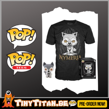 Funko POP! & TEE BOX Game of Trhones Nymeria Exclusive PRE-ORDER