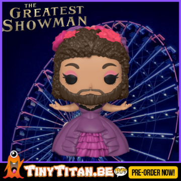 Funko POP! Bearded Lady - The Greatest Showman PRE-ORDER