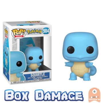 POP! Games Squirtle #504 Pokemon - Box DMG