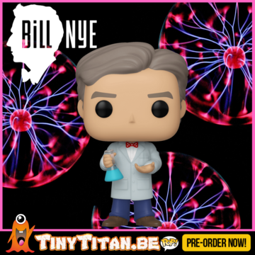 Funko POP! Bill Nye - The Science Guy PRE-ORDER