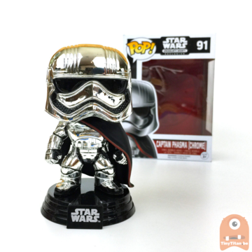 POP! Star Wars Captain Phasma (Chrome) #91 Excl