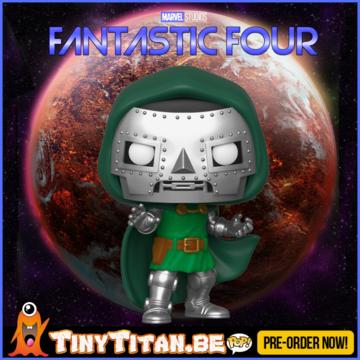 Funko POP! Doctor Doom - Marvel Fantastic Four PRE-ORDER