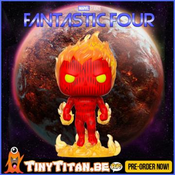 Funko POP! Human Torch - Marvel Fantastic Four PRE-ORDER