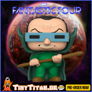 Funko POP! Mole Man - Marvel Fantastic Four PRE-ORDER
