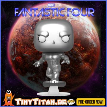Funko POP! Silver Surfer - Marvel Fantastic Four PRE-ORDER