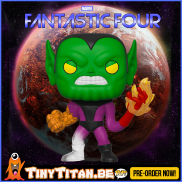 Funko POP! Super-Skrull - Marvel Fantastic Four PRE-ORDER