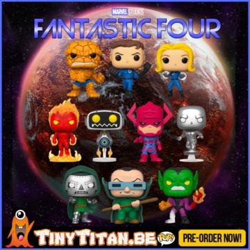 Funko POP! Bundle of 10 - Marvel Fantastic Four PRE-ORDER