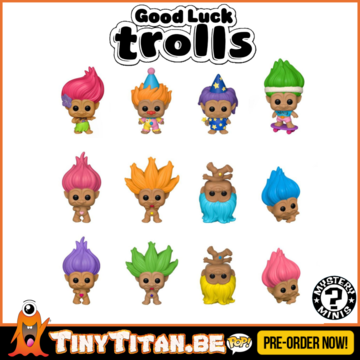 Mystery Minis Good Luck Trolls Blind Box PRE-ORDER