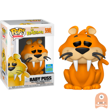 POP! Animation baby Puss #598 The Flinstones - SDCC