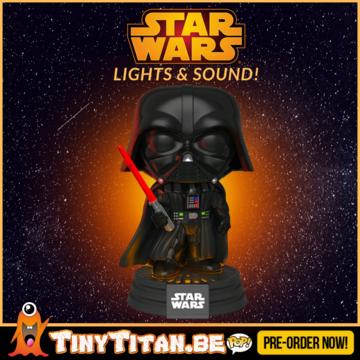 Funko POP! Darth Vader Light Up & Sound Electronic Star Wars PRE-ORDER