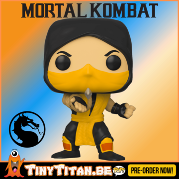 Funko POP! Scorpion - Mortal Kombat PRE-ORDER