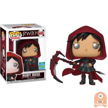 POP! Animation Ruby Rose w/ Hood #640 RWBY - SDCC