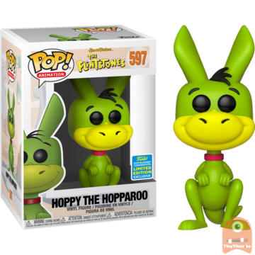 POP! Animation Hoppy The Hopparoo #597 The Flinstones - SDCC