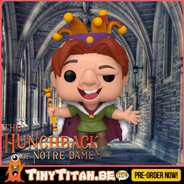 Funko POP! Quasimodo Fool - The Hunchback of Notre Dame - Disney PRE-ORDER