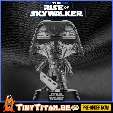 Funko POP! Knight of Ren w/ Blade Chrome - Star Wars The Rise of Skywalker PRE-ORDER