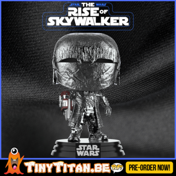 Funko POP! Knight of Ren w/ Cannon Chrome - Star Wars The Rise of Skywalker PRE-ORDER