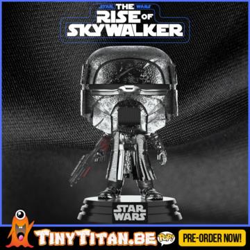 Funko POP! Knight of Ren w/ Blaster Chrome - Star Wars The Rise of Skywalker PRE-ORDER